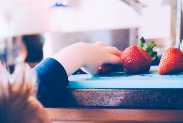 jordbær barn