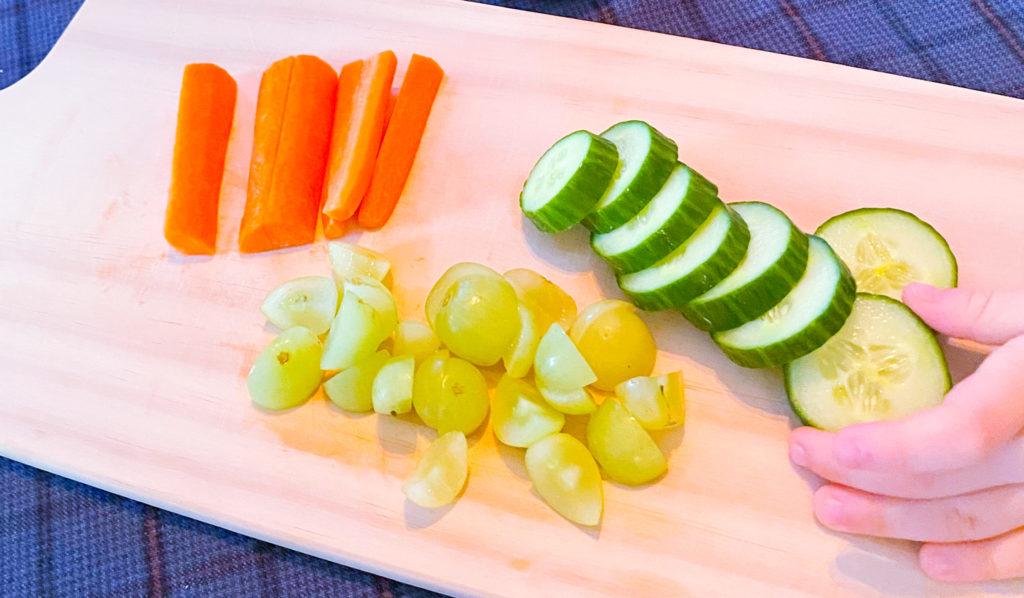 frukt og grønnsaker barn