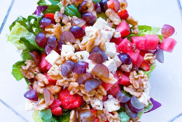 Frisk sommer salat
