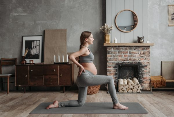 trening gravid