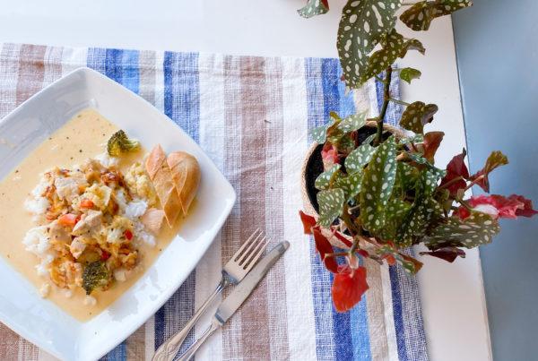 mangochutney kylling